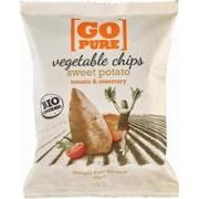 Chipsuri din Cartofi Dulci si Rosii cu Rosmarin Bio 80gr Go Pure