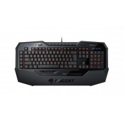 Roccat Isku FX Gamer Keyboard Black UK vilagitos gamer billentyuzet