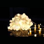 100 geleide 10m waterdichte plug outdoor kerst vakantie decoratie licht led snaar licht (220v)