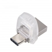 Memorias USB Kingston DTDUO3C USB3.1/ Type-C/64GB/100mb/s