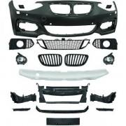 Paraurti anteriore TUNING look M per BMW Serie1 F20 F21 3 e 5 porte 2011 2012 2013 2014 2015 per lavafari per sensori griglie fendinebbia