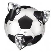 Plafondlamp in de vorm van een voetbal (3x E14)