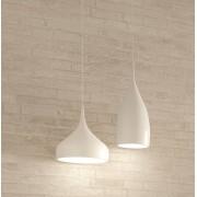 Set lamparas de techo colgante blanco