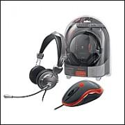 Trust 14847 :: Слушалки и мишка Gamer Pack, GM-6200