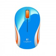 Logitech Wireless Mini Mouse M187 Blu