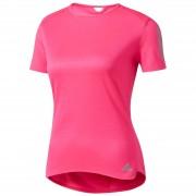 adidas Women's Response Running T-Shirt - Pink - M - Pink