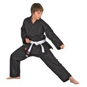 Kimono karate negru DANRHO