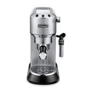Espressor manual DeLonghi Dedica Style EC685.M, 1300W, 15 bar, Oprire automată, Sistem manual de spumare a laptelui, Argintiu