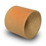 Bobin av papp 76.6mm för återanvändning gång på gång, 75mm bred