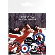 jelvények The Who - Lyrics Thend Logos - BP0464