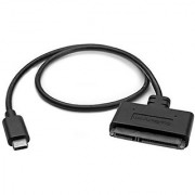 StarTech.com USB 3.1 (10Gbps) Adapter Cable for 2.5 SATA Drives - with USB-C - SATA I/II/III and UASP Support - USB Powered