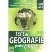 Teste de geografie pentru gimnaziu. Clasa a VII-a