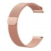 Fitbit para Versa Lite Milanese Correa Versa2 elegante magnética del reloj del metal