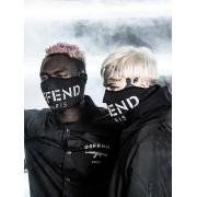 Defend Paris Facemask Black