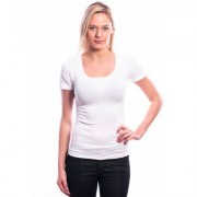 Ten Cate Women T-Shirt (30199) Short Sleeves White - Wit - Size: 2X-Large
