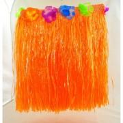 Havajská sukně - oranžová