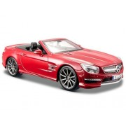 Mercedes Sl 63 Amg Convertible Red 1/24 By Maisto 31503
