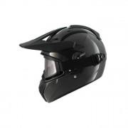 SHARK Helmets Casco Cross-Enduro Explore-R Carbon Skin taglia S Carbonio
