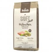 12,5kg Bosch Soft com frango e banana ração