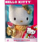 Hello Kitty Gold Edition Plush by Sanrio