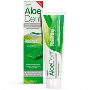 AloeDent Aloe Vera Whitening Fluoride Free Toothpaste, 100 ml