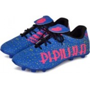 PIPILIKA Sports Storm Blue Football Shoe Boots Footwear Football Shoes For Men(Blue, Pink)