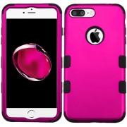 Funda Case Para IPhone 7 Plus / IPhone 8 Plus Protector Dobre De Uso Rudo - Hot Pink