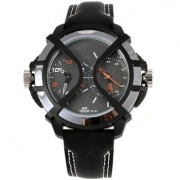 Fastrack Round Analog Watch For Men-38016pl01