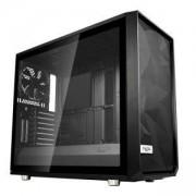 Кутия за компютър Fractal Design Meshify S2 Black – TG, 3 x Dynamic X2 GP-14, FD-CA-MESH-S2-BKO-TGL