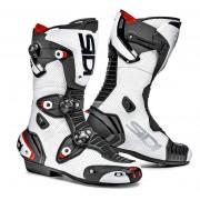 Sidi Mag-1 Air Motorcycle Boots Botas de moto Negro Blanco 42