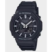 G Shock Ga2100 Analog Watch Black White