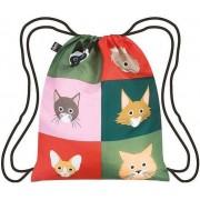 Plecak LOQI Artists Stephen Cheetham Cats