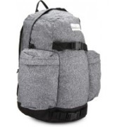 Quiksilver Zeplin Laptop Backpack(Black, Grey)
