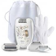 Епилатор Philips, KeraBody, глава за подстригване на бикини линия, Ръкавица за ексфолиране HP6425/01