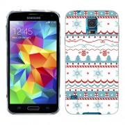 Husa Samsung Galaxy S5 Mini G800F Silicon Gel Tpu Model Model Craciun
