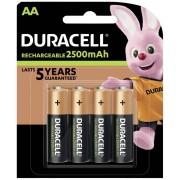 Acumulator NiMH, AA, 1,2 V, 2400 mAh, 4 buc., Duracell