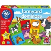 Jucarie educativa Orchard Toys Farmyard Dominoes
