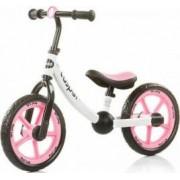 Bicicleta fara pedale Chipolino Casper Roz