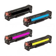 HP 131A multipack toner (CF210X, CF211A, CF212A, CF213A) voordeelbundel (huismerk toners)