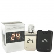 ScentStory 24 Platinum The Fragrance Jack Bauer Eau De Toilette Spray 3.4 oz / 100.55 mL + Spray 0.8 oz / 23.65 mL 500202