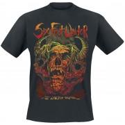 Six Feet Under The Enemy Inside Herren-T-Shirt - Offizielles Merchandise M, L Herren