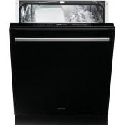 Masina de spalat vase incorporabila Gorenje GV6SY2B, A+, 60 cm, 12 seturi, 6 programe, sticla neagra