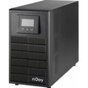 UPS nJoy Aten Pro 3000 3000VA/2700W On-line LCD Dubla conversie