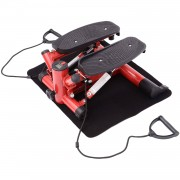 HOMCOM Mini Stepper, Size (56 x50 x21cm)-Black/Red