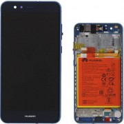 Huawei - Vetro LCD completo per Huawei P10 Lite - Blu (Originale)