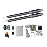 Kit Automatizare Porți Batante 150kg/brat cu Fotocelule si Lampa