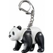 Breloc Playmobil Panda Black-White