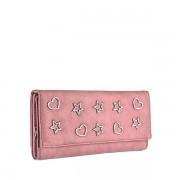 Dámská růžová peněženka 9422