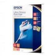 PAPEL FOTOGRAFICO EPSON ULTRA GLOSSY 10X15CM 50 HOJAS C13S041943