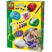 Комплект бои за оцветяване на камъчета, SES, 080597